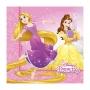 Set de 20 Servilletas Princesas Disney Heart