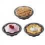 Set de 4 mini moldes para tarta
