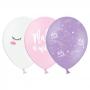 Set de 50 globos de unicornio en 3 modelos diferentes de 30 cm
