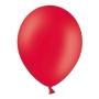Set de 50 Globos Rojo Amapola Pastel 30 cm