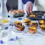 Set de 6 moldes para hacer pastel de Belém o pastel de nata portugués