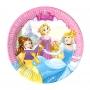 Set de 8 Platos Princesas Disney 20 cm