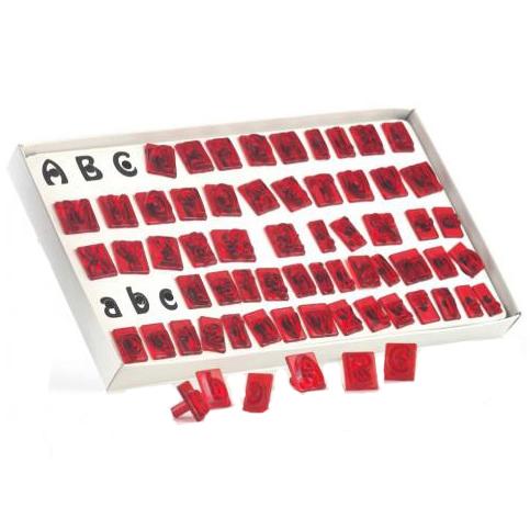Set de cortadores abecedario JEM