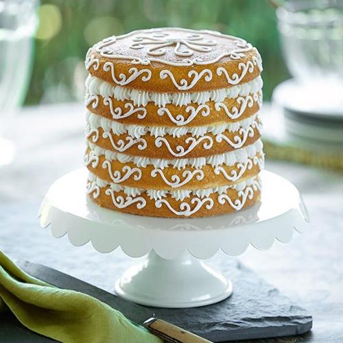 Set de 5 moldes para layers cakes de 15cm