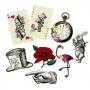 Set Decoración Truly Alice 8 Accesorios