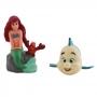 Set Figuras para Tarta Ariel y Flounder