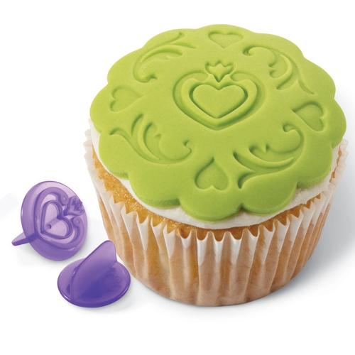 Juego de 14 Texturizadores para Cupcakes Flowers