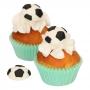 Set 8 Decoraciones Comestibles Fútbol