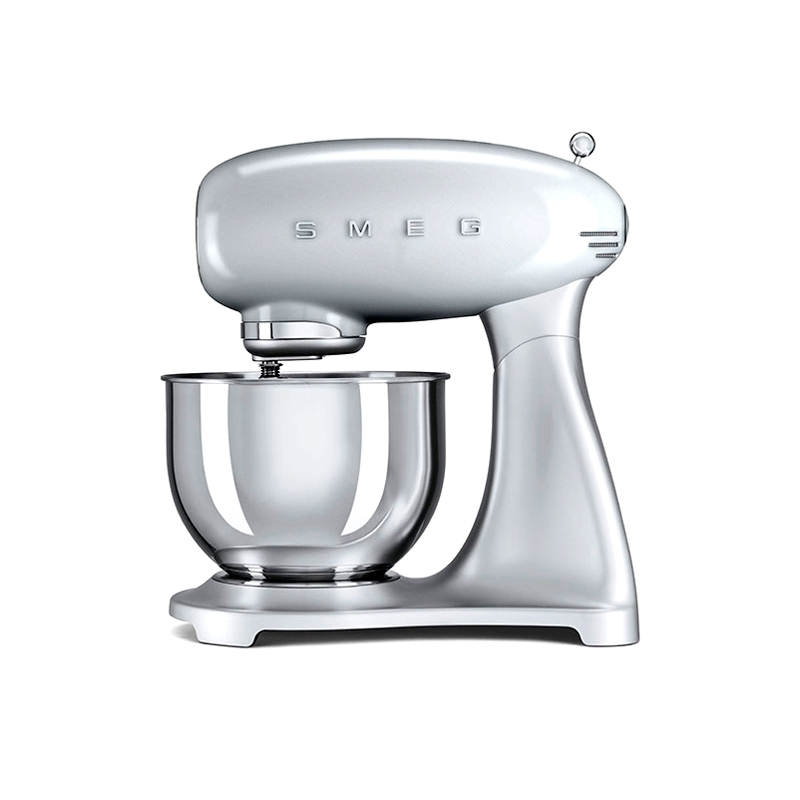 Robot de Cocina SMEG Color Plata