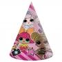 Set de 6 Sombreros Cono Muñecas LOL Surprise!