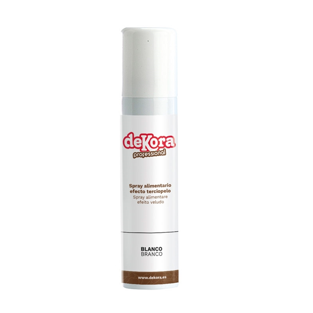 Spray Efecto Terciopelo Blanco 150 ml