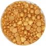 Sprinkles Medley Gold Deluxe 65 gr - FunCakes