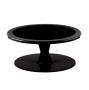 Stand color Negro para tartas 24 cm