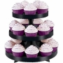 Stand para cupcakes color negro Wilton