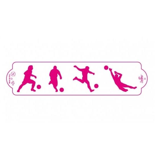 Stencil jugadores de fútbol