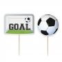 Juego de 6 Toppers Fútbol Goal