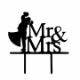 Topper Mr y Mrs Abrazo
