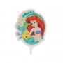 Vela de Cumpleaños Sirenita Ariel