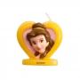 Vela de cumpleaños de Bella en 3D de 5 cm
