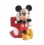 Vela de cumpleaños Mickey Nº 5