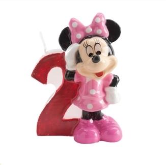 Vela de cumpleaños Minnie Nº 2
