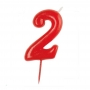 Vela Nº 2 Roja