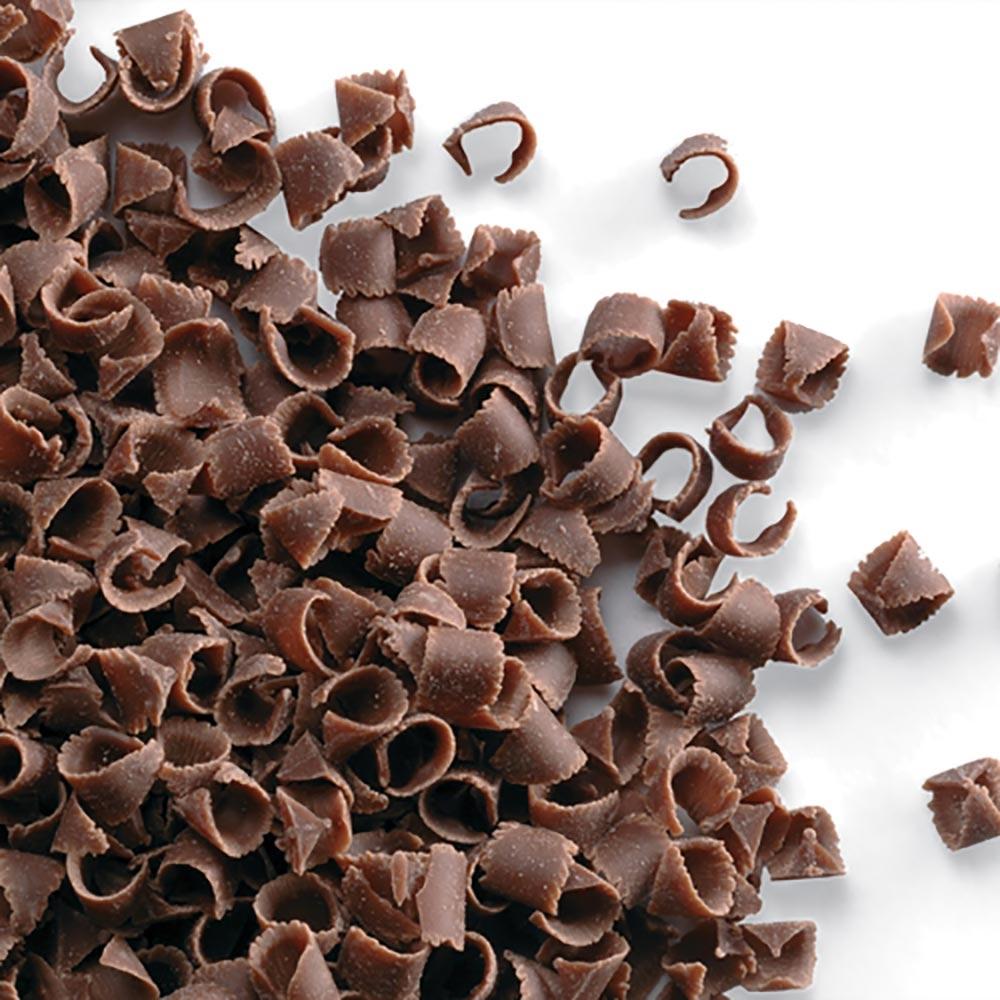 Virutas de chocolate con leche para decorar tus dulces de 85 gramos