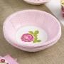 Juego de 8 Bowls Vintage Rose